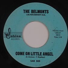 BELMONTS: Come On Little Angel / How About Me SABINA Doo Wop 45 Rare HEAR