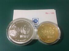 Malaysia 50th WWF Proof Coin Set of 2 - COA140
