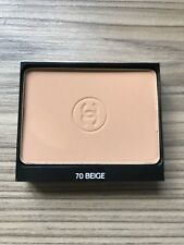 Chanel #70 Beige Le Teint Ultra Tenue Compact Foundation NEW UNUSED 13g Refill