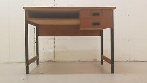 Retro Teak Desk Vintage Mid Century Danish Style