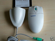 Nice Rare SYSTEMAX NewScroll Wireless Wheel Mouse PS/2 Win 95 98 nt