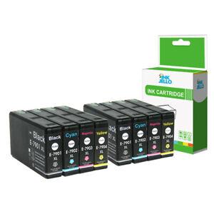 8 Ink Cartridge For Epson WorkForce Pro WF4630DWF WF4640DTWF WF5110DW WF5190DW
