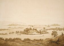 Rügen Landscape, 1835, CASPER DAVID FRIEDRICH, Romanticism Art Poster