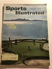 1961 Sports Illustrated THE NATIONAL PRO-AMATEUR Golf BING CROSBY Championship