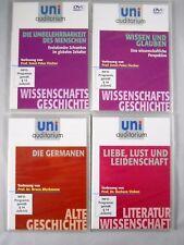 4x Uni Auditorium DVD Paket - Prof. Vinken Bleckmann Fischer Hochschule Liebe