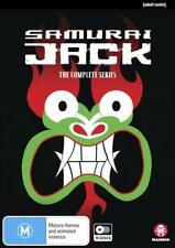 SAMURAI JACK Season 1 2 3 4 5 (Region 1) DVD The Complete Series 1-5 Collection