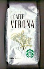 Starbucks Caffe' Verona Coffee Beans - 12 oz. - Dark Roast - Great Price!