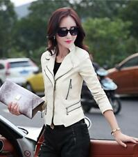 women jacket  jackets coat fashion faux leather clothing Motorcycle Coats dsfs9