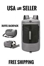 NEW Duffel Backpack Travel Bag Waterproof Shoulder Bag Grey Luggage Bag Men Hand