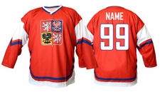 Team Czech republic RED Ice Hockey Fan Jersey Custom Name and Number
