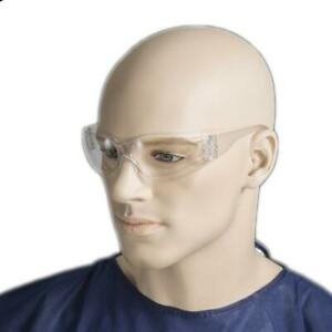Bastion Scratch Resistant Surface Safety Glasses - Clear Lens, Smoke