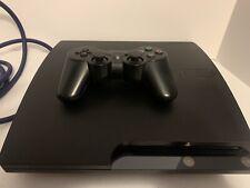 Sony PlayStation 3 Slim Launch Edition 250GB Charcoal Black Console (CECH-2001B)