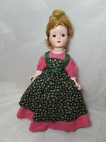 "Vintage Madame Alexander Little Women Doll  ""MEG"" 15"" Tall"