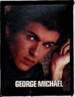 GEORGE MICHAEL  'GLANCING''  vintage  sew on photo patch. WHAM  80's