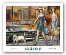Girlfriends II Elya DeChino Art Print 15x20