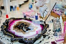 Epoxidharz Resin Art Superpaket Top 5kg Farbe Werkzeug ideales Geschenk
