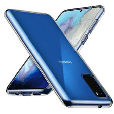 Samsung Galaxy S20 (6,2') Silikon Hülle Klar Schutzhülle Slim Case Cover Bumper