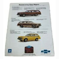 1979 Chevrolet Wagons Sales Brochure Buyer's Guide Dealer Car Auto Advertising