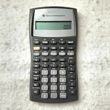 Texas Instruments BA II Plus Business Analyst Financial Calculator (No Cover)