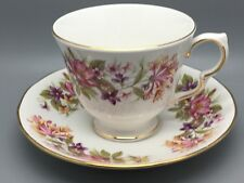 "Colclough ""Hedgerow"" Pattern Cup & Saucer Duo Vintage 1970's"