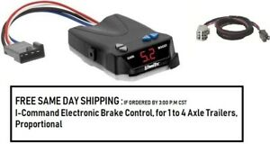 5535 Draw Tite Brake control with Wiring Harness 3026 FOR 2007-2018 GM