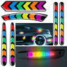 Car Reflective Colorful Sticker Car Rear Bumper Door Decal Safety Warning Tape