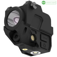 Laspur Compact Green Laser Sight Flashlight Light Combo, Magnetic Touch Recharge