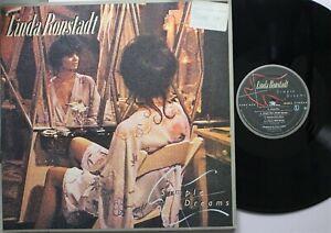 Rock Lp Linda Ronstadt Simple Dreams on Asylum - Vg / vg (Price Sticker on F