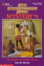 The Baby-Sitters Club Mystery: The Mystery at Claudia's House No. 6 by Ann M....