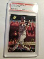 2000 SPx SPxCitement Derek Jeter #XC3 New York Yankees PSA 7
