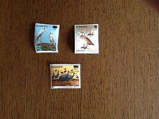 Botswana Stamps Definitive Overprints Complete Set SG 612-4. Birds