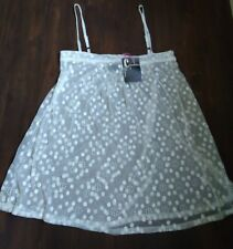 Chandelier Lingerie Dress Dollie See through lace White Delicate 158$ size 10