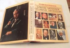 ** SIGNED ** Harold Wilson On Prime Ministers First Edition