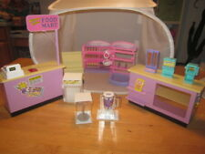 Mattel Barbie Doll Furniture Grocery Store Retail Lot Cash Register Display Case