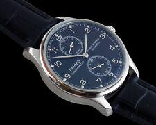 43mm parnis black dial Power Reserve Chronometer Automatic men Watch P039