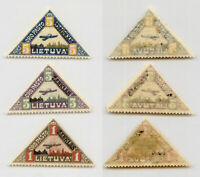 Lithuania 1922 SC C15-C17 mint. rtb4516
