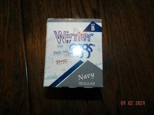 NEW Leggs Winter Leggs Pantyhose Size B Navy Nylons, VINTAGE Unopened