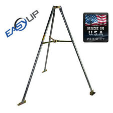 """Easy Up 5 Foot Tripod Mount Roof Fits up to 1.75"""" Mast Antenna Made USA EZ 48-5A"""