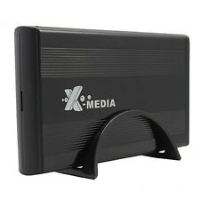 """X-media EN-3400-BK 3.5"""" USB External IDE/SATA Hard Drive Enclosure Supports 2TB"""