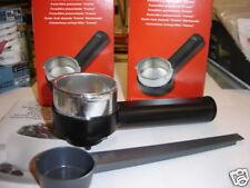porta filtro completo saeco pressurizzato nero+ misurino - RICAMBIO ORIGINALE