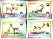 WWF Gazelle by Niger MNH Sc 983-86