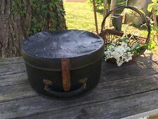 ancien boite valise chapeaux