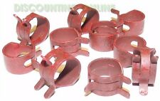 USA MADE 10 PACK FITS JOHN DEERE R56101 FUEL LINE HOSE CLAMPS ON TY22551 HOSE