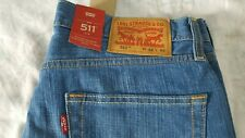 LEVI'S STRAUSS MEN'S 511 SLIM FIT denim(04511-1096) JEANS W32xL32