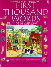 First Thousand Words In Hebrew (First 1000 Words) by Amery, Heather Paperback