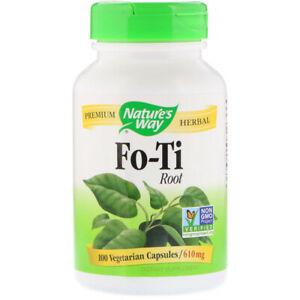 He Shou Wu ( Polygonum Multiflorum ) 610mg 100 Veg Caps   Anti-Aging Skin Health