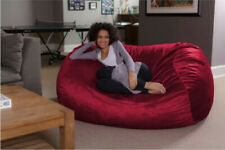 Microsuede Extra Large Bean Bag Chair By Latitude Run