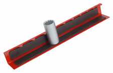 "CT1905 Quality 1/2"" Drive Magnetic Any Angle Socket Storage Rail Bit Holder"