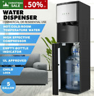 Bottom Loading Water Cooler Dispenser Stainless Steel 3-Temperatures Safety photo