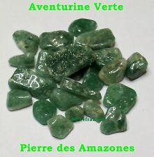 Lot 21 Pierres Roulées naturelles +++ AVENTURINE VERTE +++ Pierres des Amazones